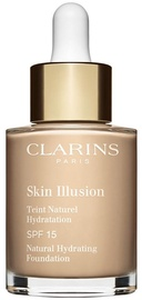 Clarins Skin Illusion Natural Hydrating Foundation SFP15 30ml 105