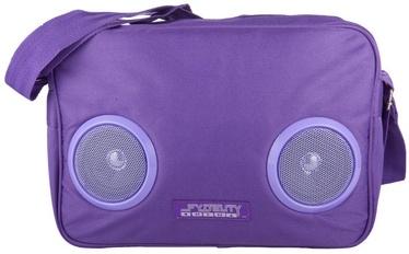 Kuprinė Fydelity Fyd Daily G-Force Bag with Speakers Purple