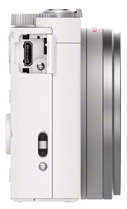 Sony WX500 Compact Camera White