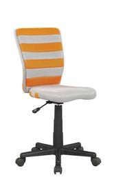 Bērnu krēsls Halmar Fuego Grey/Orange