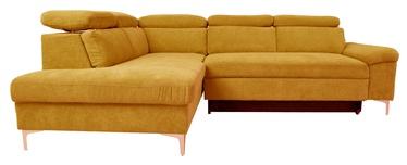 Dīvāngulta Home4you Roselani 14068, dzeltena, 200 x 267 x 84 cm
