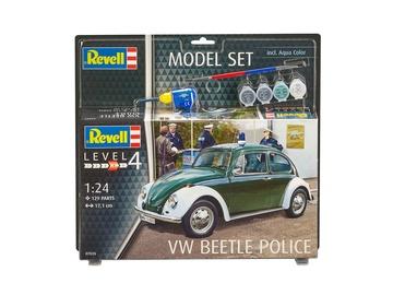 Revell Model Kit VW Beetle Police 1:24 67035R