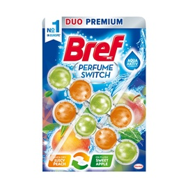 Henkel Bref Power Aktiv Sweet Juicy Peach Red Apple 2x50g