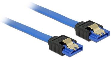 Delock Cable SATA / SATA Blue 0.7m