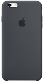Apple Case For iPhone 6s Plus Silicone Charcoal Gray