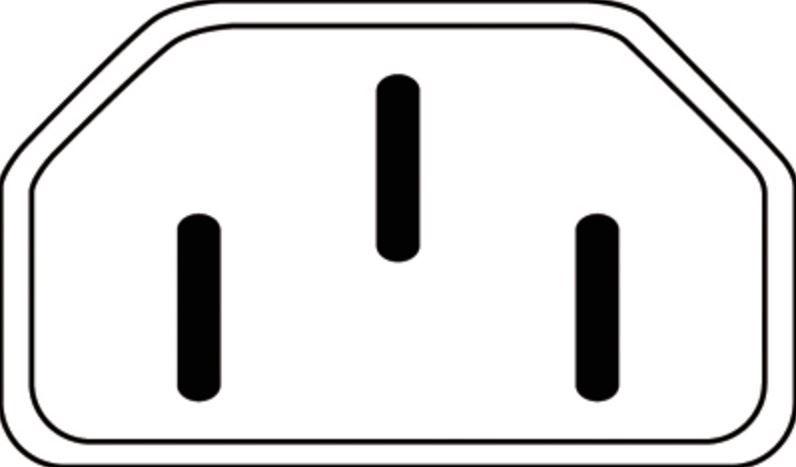 Провод Assmann Power Cord Euro / IEC C7 Black 1.2m