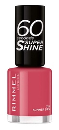 Rimmel London 60 Seconds Super Shine 8ml Nail Polish 715