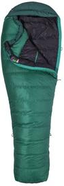 Guļammaiss Marmot Palisade Long RZ, zaļa, labais, 226 cm