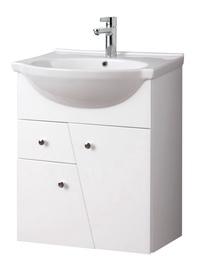 Vonios spintelė be praustuvo Riva SA60-7, balta