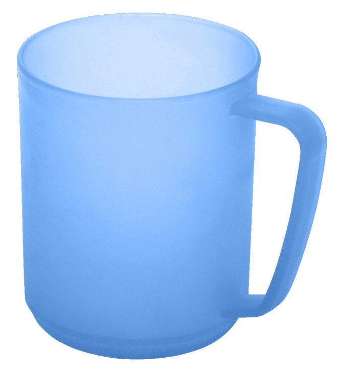 Plast Team Hawaii Cup With Handle 10.7x7.8x9.6cm 0.35l Blue