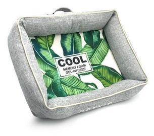 Кровать для животных Petkit Four Seasons, зеленый/серый, 680x900 мм