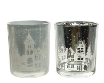 Svečturis stikla, 8.5 cm