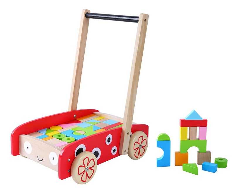 EcoToys Wooden Walker Pusher 2111