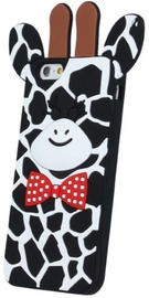 Forcell Soft 3D Back Case For Samsung Galaxy A5 A510F Black Giraffe