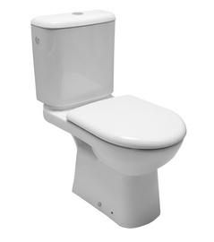 Tualetes pods WC Jika Deep, balts, vertikālais izvads