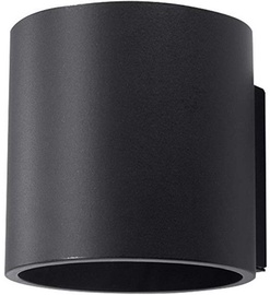 Sollux Orbis Wall Lamp 40W GU10 Black