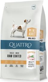 Pašaras Quattro mažiems šunims su paukštiena 7kg