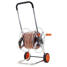 Gardena 2682 Metallic 60 Hose Trolley Set