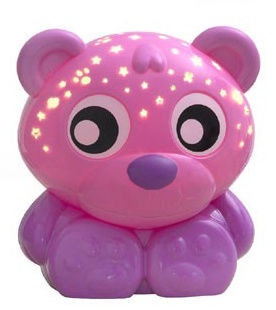 Playgro Goodnight Bear Night Light And Projector Pink