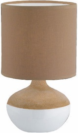 Fischer & Honsel Norwich 56192 Table Lamp 30W E14 Brown/White