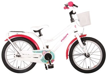 "Vaikiškas dviratis Volare Brilliant 91663 2021, baltas, 16"""