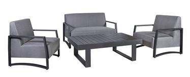 Home4you Rainbow Garden Furniture Set Grey