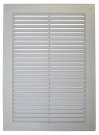 Ventilācijas reste Plaskanta 24x17,5cm, balta