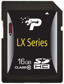 Patriot 16GB SDHC LX Class 10