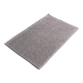 Vonios kilimėlis Domoletti ma3489c, pilkas, 50 x 80 cm