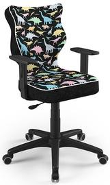 Детский стул Entelo Duo Size 5 ST30, черный/многоцветный, 375 мм x 1000 мм