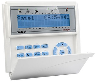 Satel INT-KLCD-BL LCD Keypad for Integra Control Panels