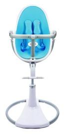 Стульчик для кормления Bloom Fresco Chrome, синий/белый