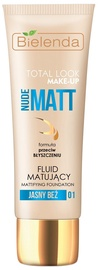 Bielenda Total Look Make-up Mattifying Fluid Foundation Nude Matt 30ml 01