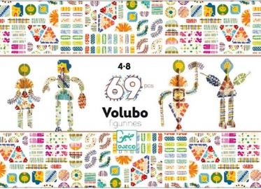 Djeco Volubo Figurine 3D Connecting Pieces DJ05631