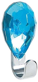 Spirella Hook Jewel 3x6,5cm Blue