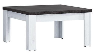 Kafijas galdiņš Black Red White Antwerpen Larch, 750x750x400 mm