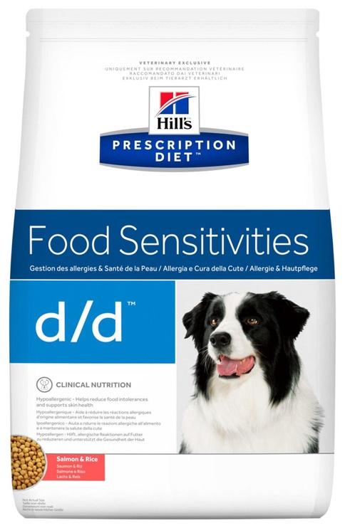 Hill's Prescription Diet Food Sensitivities d/d Salmon & Rice 12kg