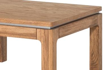 Журнальный столик Szynaka Meble Montenegro 41 Oak, 800x800x450 мм