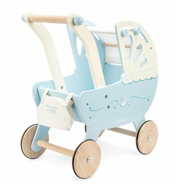 Le Toy Van Moonlight Pram Blue