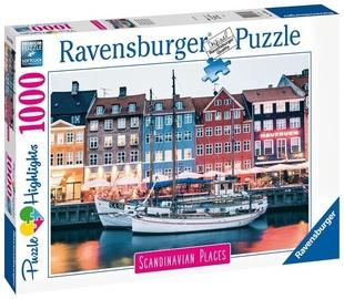 Ravensburger Puzzle Copenhagen Denmark 1000pcs 16739