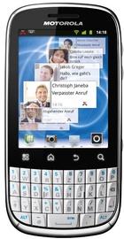 Motorola FIRE White QWERTZ ENG