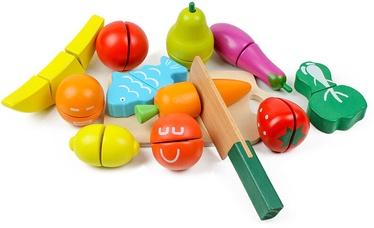 EcoToys Wooden Fruits & Vegetables 13pcs 169874