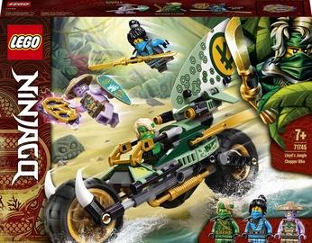 Конструктор LEGO Ninjago Мотоцикл Ллойда для джунглей 71745, 183 шт.