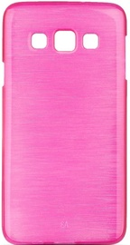 Forcell Jelly Brush Pearl Back Case For Samsung Galaxy A5 A510F Pink