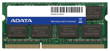 A-Data 8GB 1600MHz DDR3 CL11 SO-DIMM ADDS1600W8G11-S