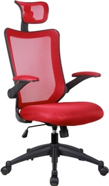 Home4you Work Chair Fortuna Red 27573