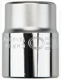 "NEO Hexagonal Socket Cr-V 21mm 1/2"""