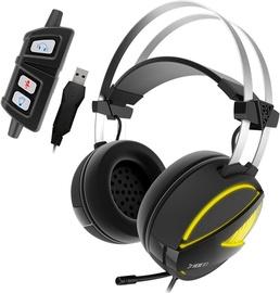 Ausinės Gamdias Hebe M1 Surround Sound Gaming Headset Black