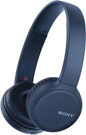 Belaidės ausinės Sony WH-CH510, mėlynos