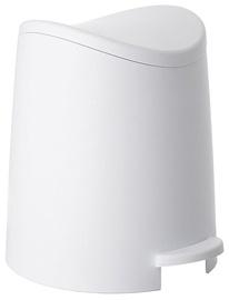 Tatay Bathroom Pedal Bin 3l Standard White
